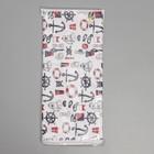 Чехол для гладильной доски «Узоры», 140×50 см, цвет МИКС - фото 4636263