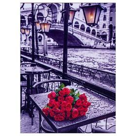 Алмазная мозаика «В ожидании любимой» 30 × 40 см, 33 цвета