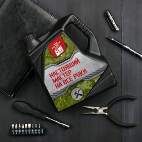 "Набор инструментов в канистре ""Настоящего мастера на все руки"", 21 в 1"