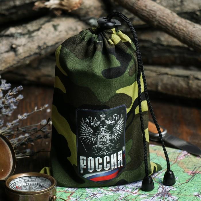 """Стакан граненый в мешочке """"Россия"""", 250 мл"""