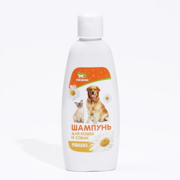 """Шампунь """"Пижон""""  для кошек и собак, с ароматом ромашки, 250 мл"""