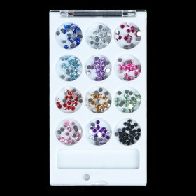 Rhinestone for decoration nail art, 3mm, MIX color