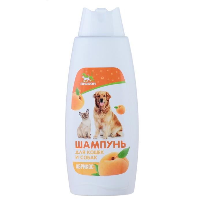 """Шампунь """"Пижон""""  для кошек и собак, с ароматом абрикоса, 250 мл"""