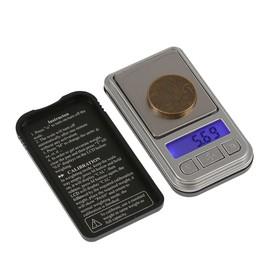 Весы LuazON LVU-04 , портативные, электронные, до 200 гр, серые