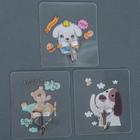 Крючок-наклейка «Забавные животные», рисунок МИКС