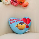 """Toy-pillow-stress """"Just for you"""""""