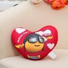 "Toy-pillow-stress ""Kolobanga heart,"" love inspires"
