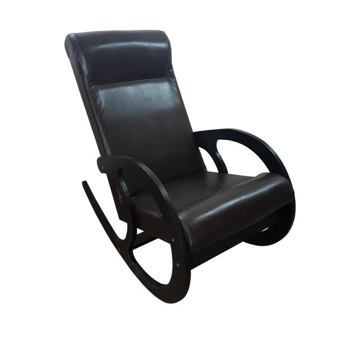 Кресло-качалка София, 530х1000х890, Темный/ Венге