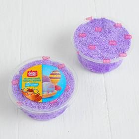 Шариковый пластилин застывающий 80 мл, фиолетовый Ош