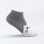 Носки детские Ft-551-M-12+2 цвет серый, р-р 16-18