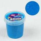 Слайм в ведерке голубой ароматизированный, 150 мл