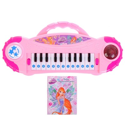 "Synth ""Magical melodies"" WINX fairies with the book to play on the synthesizer SL-00941"