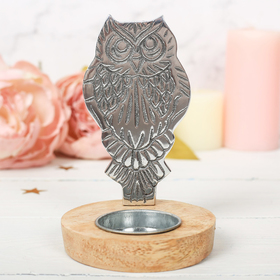 "Candle Holder ""Owl"""