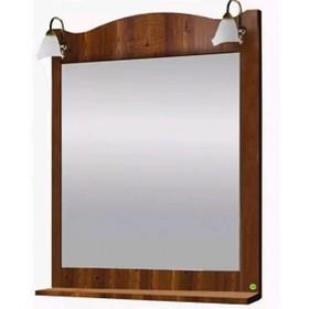 """Зеркало с полкой и светильниками """"Классика 700"""" Дуб арт.12268"""