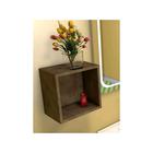 """Полка кубик """"Рэдиссон"""" золотая арт.003955"""