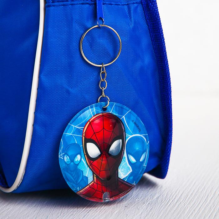 """Брелок с фонариком """"Человек-паук"""", Человек-паук"""