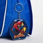 """Брелок с фонариком """"Самый крутой!"""", Человек-паук"""