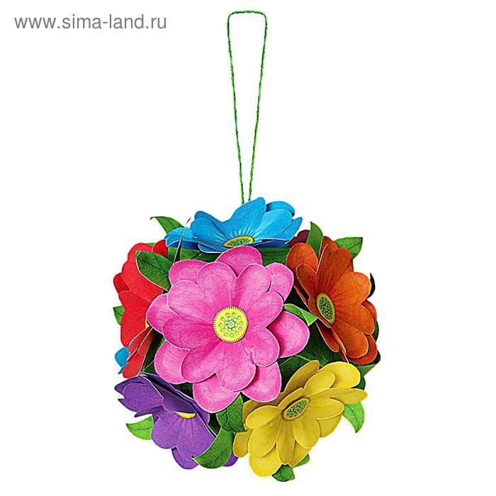 """Набор для творчества """"Шар из цветов"""", бумагопластика"""