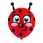 "Globe with stickers ""Little ladybug"""