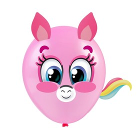 Balloon with stickers Pony