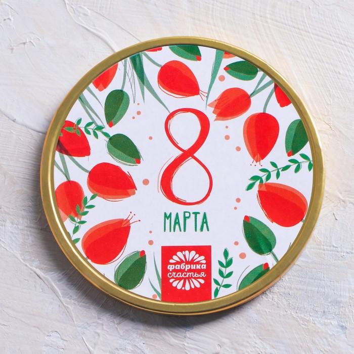 """Шоколадная медаль """"8 Марта"""", 25 г"""
