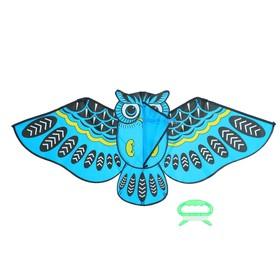 Воздушный змей «Сова», с леской, цвета МИКС