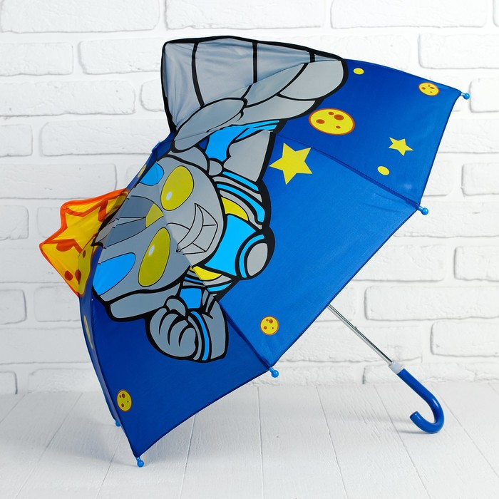 Зонт детский фигурный «Космос» - фото 105456281