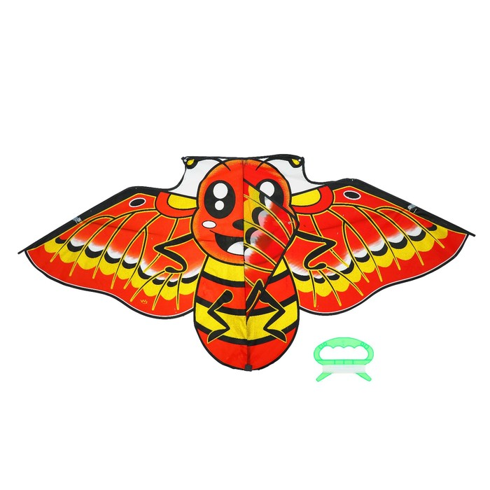 """Воздушный змей """"Пчёлка"""" с леской"""