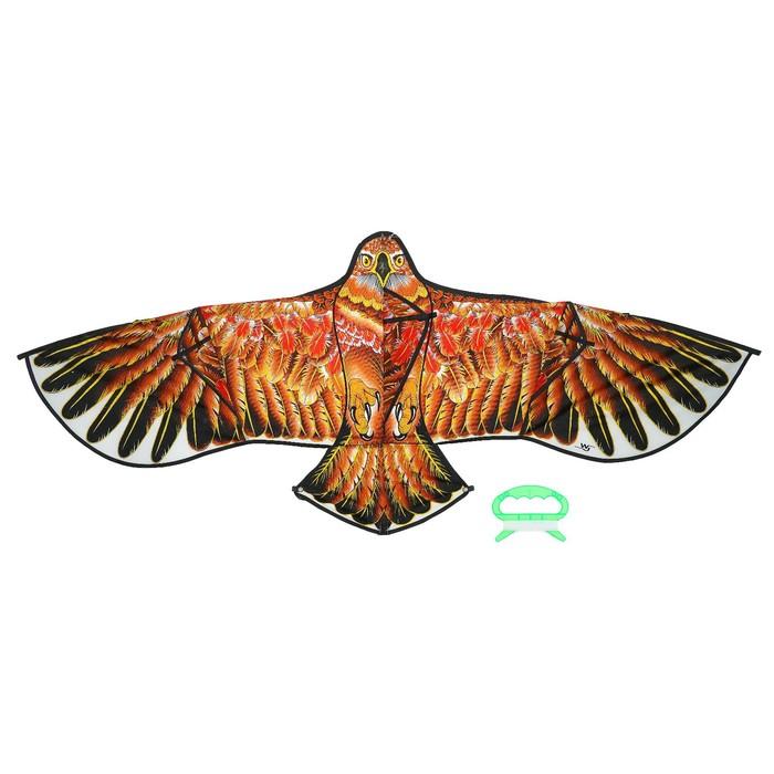 Воздушный змей «Ястреб», с леской, цвета МИКС
