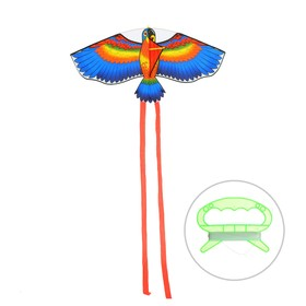 "Kite ""Bird"" with fishing line, MIX colors"