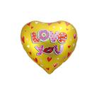 "Balloon foil heart 18"" ""I love you"", hearts"