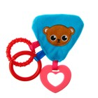 """Toy with teether """"Bear"""""""