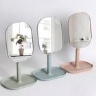 Зеркало настольное, зеркальная поверхность — 14 × 18 см, МИКС
