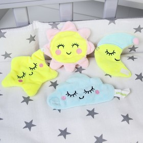 "A set of educational toy ""Happy baby"", 4 PCs."