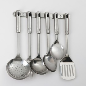Набор кухонных принадлежностей «Стандарт», 6 предметов, на подвесе