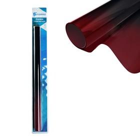 Тонировочная плёнка для автомобиля TORSO 50x300 см, 5%, переход черно-красный