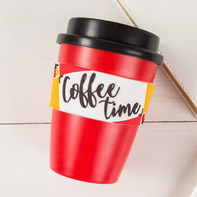 """The vacuum Cup """"Coffee time"""", 340 ml"""
