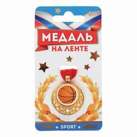 Медаль звезды мини 'Баскетбол', диам. 3.5 см Ош