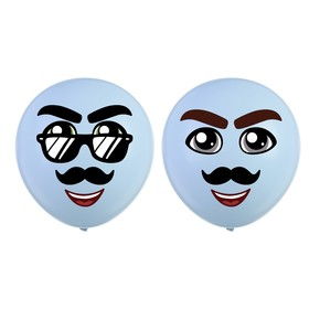 Наклейки на воздушные шары «Парень»