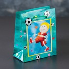 The package laminated Football, 12 x 15 x 5 cm
