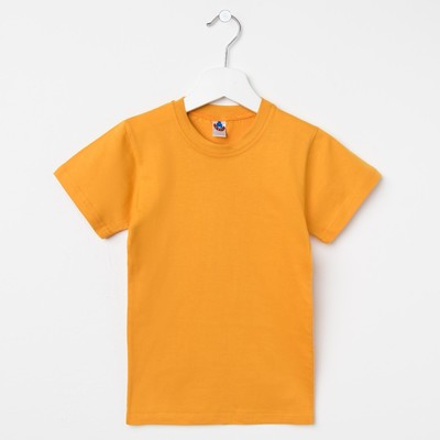 Футболка детская, цвет оранжевый, рост 152 см (80)