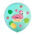 """Наклейки на воздушные шары """"Фламинго"""""""
