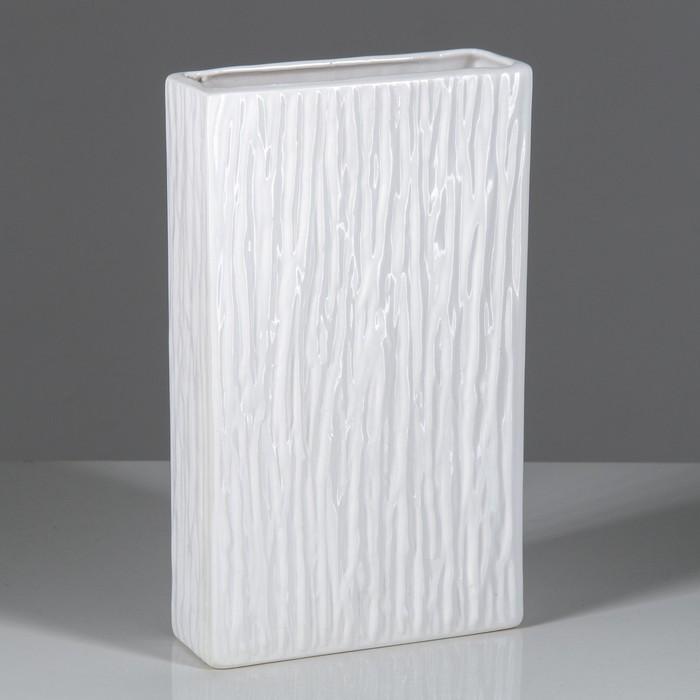 """Ваза """"Феран"""" глянец, белая"""