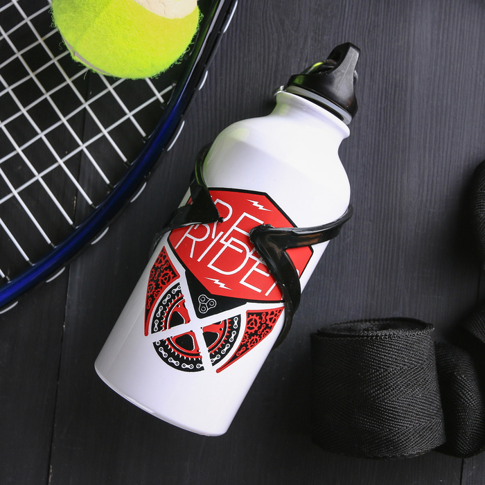 Бутылка для воды «Free rider», с держателем, 400 мл