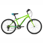 "Велосипед 24"" Stinger Defender, 2018, цвет зелёный, размер 14"""