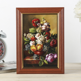 """The housekeeper is """"a Wonderful bouquet"""" nut 15x21 cm"""