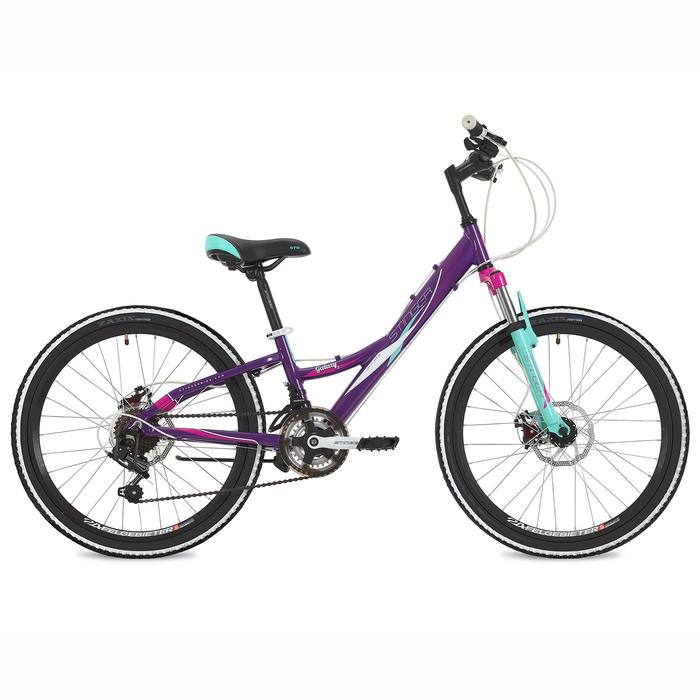 """Велосипед 24"""" Stinger Galaxy D, 2018, цвет фиолетовый, размер 11"""""""