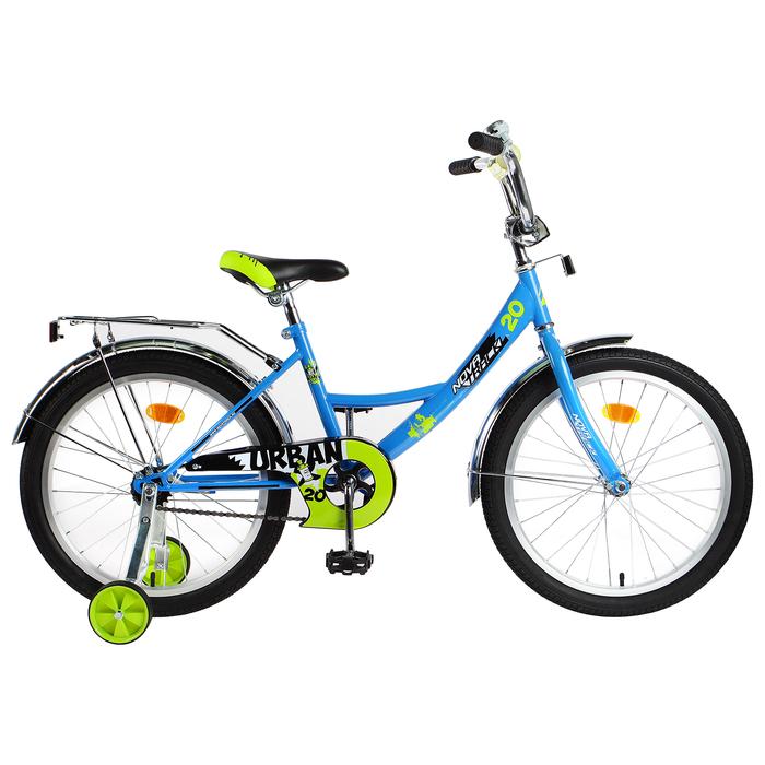 """Велосипед 20"""" Novatrack Urban, 2019, цвет синий"""
