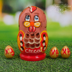 """Easter matryoshka doll """"chicken with eggs"""""""