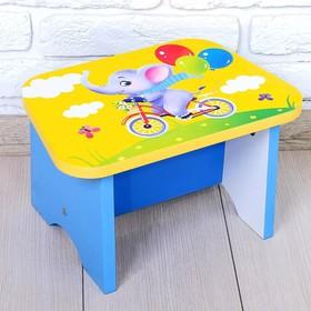 Стул-подставка для умывания детский «Слоник» Ош